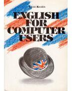 English for Computer User - Kecskés István