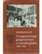 A magyarországi gyógyszerészet a századfordulón 1888-1914 - Kempler Kurt