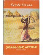 Jóreggelt, Afrika! (dedikált) - Kende István