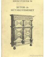 Bútor- és műtárgyismeret - Kenessei András