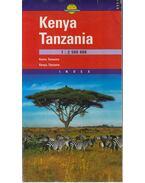 Kenya Tanzánia Térkép (1:2500000)