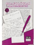 Grafológiai alapismeretek 25-26. lecke - Kerekes Andrea
