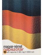 Magyar-német napszótár - Keresztes Mária