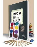 Nyírd ki ezt a naplót + pingálószett egy csomagban - Keri Smith