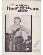 Magyar Uriasszonyok Lapja 1936. XIII. évf. 3. szám - Kertész Béla