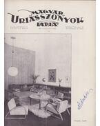 Magyar Uriasszonyok Lapja 1936. XIII. évf. 33. szám - Kertész Béla