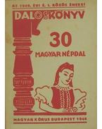30 magyar népdal és kánon - Kertész Gyula