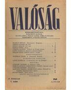 Valóság 1948. január 1. szám - Karácsony Sándor