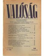 Valóság 1948. február 2. szám - Karácsony Sándor