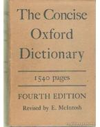 The Concise Oxford Dictionary - F. G. Fowler, H. W. Fowler