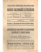 A mezőgazdasági kiállítások és állatdíjazások jelentősége és kotató hatása - Konkoly Thege Sándor dr.