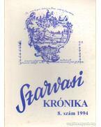 Szarvasi Krónika 1994. 8. szám - Kutas Ferenc