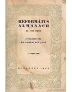 Református almanach az 1928. évre - Sebestyén Jenő