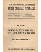 Mangalicatenyésztésünk fejlesztésének eszközei - Rácz Mihály