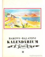 Bakony-Balaton Kalendárium 1991 - Varga Béla