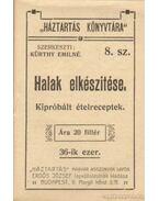 Halak elkészítése - Kürthy Emilné (szerk.)