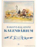 Bakony-Balaton kalendárium 1995 - Varga Béla