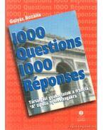 1000 Questions 1000 Réponses - Gulyás Rozália
