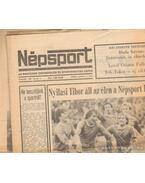 Népsport 1981. Január (teljes) - Szabó Béla