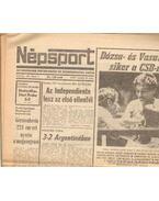 Népsport 1981. Február (hiányos) - Szabó Béla