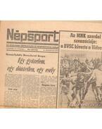 Népsport 1984. November (teljes) - Varga József