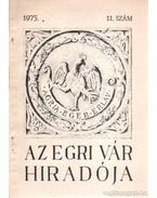Az egri vár hiradója 1975. 11. szám - Szabó János Győző
