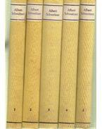 Ausgewählte werke in fünf bänden band I-V. - Albert Schweitzer