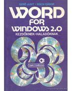 Word for Windows 2.0 - Gerő Judit - Reich Gábor