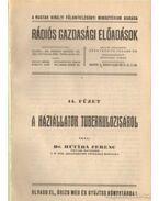 A háziállatok tuberkulózisáról - Dr. Hutyra Ferencz