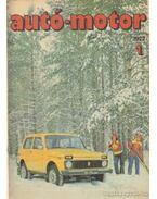 Autó-motor 1977 teljes (1-24. szám) + magazin - Kókai Imre (szerk.)