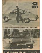 Autó-motor 1971. (teljes) - B. Pór Ibolya