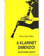 A klarinét dimenziói - Simon Géza Gábor