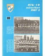 MTK-VM műsorfüzet 1987/2 - Hegyi István