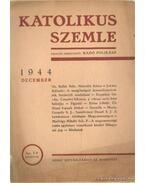 Katolikus Szemle 1944 december - Radó Polikárp