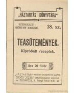 Teasütemények (mini) - Kürthy Emilné (szerk.)