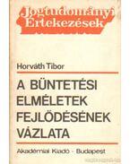 A büntetési elméletek fejlődésének vázlata - Horváth Tibor