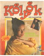 Kölyök magazin 1987. augusztus - Berkes Péter