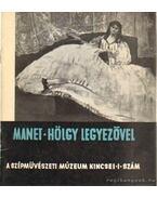 Manet - Hölgy legyezővel - L. Csorba Géza