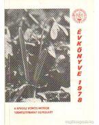 A KPVDSZ Vörös Meteor Természetbarát Egyesület évkönyve 1978 - Szász Károly