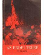 Az erdei telep 1928-1978 - Réti László, Róder László