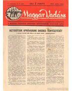 Magyar Vadász 1952. április-május 2-3. szám - Szűcs Sándor