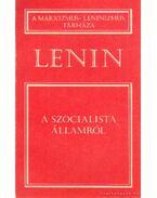 A szocialista államról - Lenin