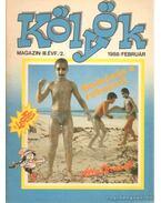 Kölyök magazin 1988. február - Berkes Péter