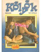 Kölyök magazin 1987. április - Berkes Péter