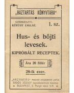 Hus- és bőjti levesek - Kürthy Emilné (szerk.)
