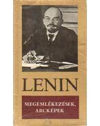 Megemlékezések, arcképek - Lenin