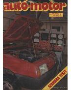 Autó-Motor 1989. (teljes évfolyam) - Pongrácz György