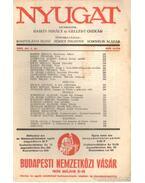 Nyugat 1936. április 4. szám - Gellért Oszkár, Babits Mihály