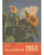 Kincses Kalendárium 1968. - Szentkirályi János