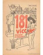 181 vicc rajzban és írásban - Földes György